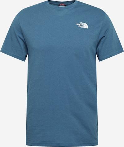THE NORTH FACE Camiseta 'Red Box' en azul cielo / negro / blanco, Vista del producto