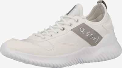 a.soyi Sneaker in grau / weiß / naturweiß, Produktansicht