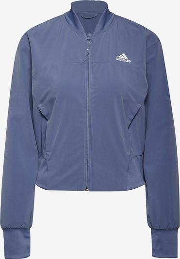 ADIDAS PERFORMANCE Športna jakna 'Designed to Move'   lila / bela barva, Prikaz izdelka