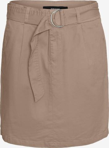 Vero Moda Tall Skirt 'Eva' in Brown