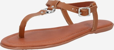 ESPRIT T-bar sandals 'Kona Thong' in Brown, Item view