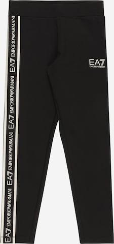 melns EA7 Emporio Armani Bikses