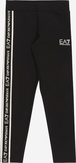 EA7 Emporio Armani Broek in de kleur Zwart / Wit, Productweergave