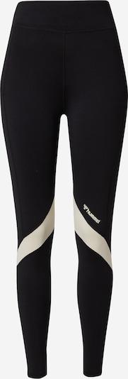Hummel Leggings in schwarz / weiß, Produktansicht