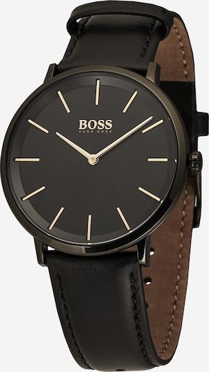 BOSS Casual Uhr 'Skyliner' in gold / schwarz / silber, Produktansicht