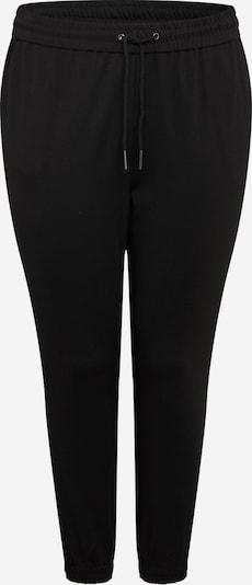 Pantaloni 'Eva' Vero Moda Curve pe negru, Vizualizare produs