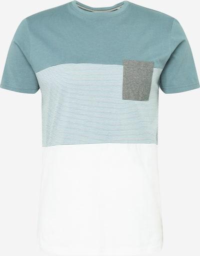!Solid Shirt in blau / hellblau / weiß, Produktansicht