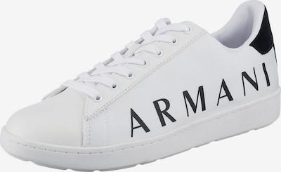 ARMANI EXCHANGE Nízke tenisky - čierna / biela, Produkt