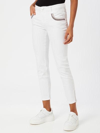 MOS MOSH Jeans 'Naomi' in de kleur Wit, Modelweergave