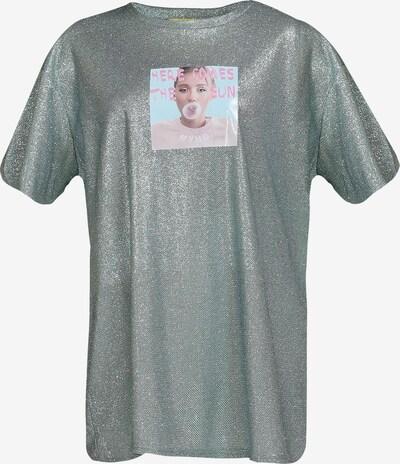 Tricou MYMO pe albastru pastel / culori mixte, Vizualizare produs