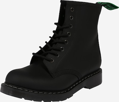 Boots stringati '8 Eye' Solovair di colore nero, Visualizzazione prodotti