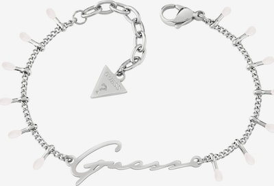 GUESS Armband in silber / weiß, Produktansicht