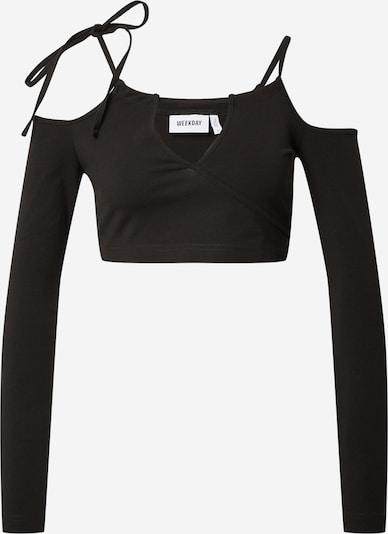 WEEKDAY Shirt 'Zenia' in de kleur Zwart, Productweergave