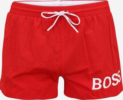 BOSS Ujumispüksid punane / valge, Tootevaade