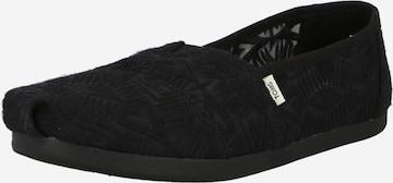 TOMS Slippers 'ALPARGATA' i svart