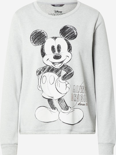 PRINCESS GOES HOLLYWOOD Sweatshirt in light grey / black / white, Item view