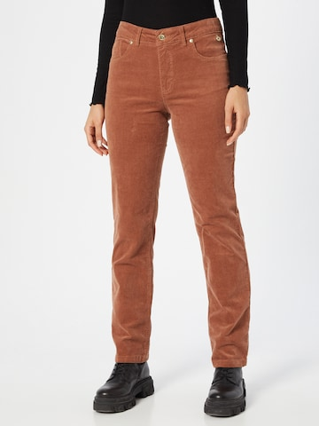 Claire Pants 'Janice' in Brown