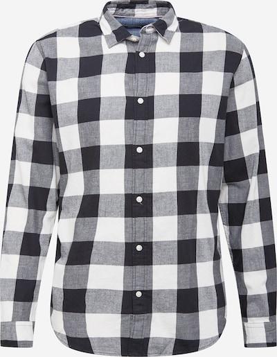 JACK & JONES Hemd 'EGINGHAM' in schwarz / weiß, Produktansicht