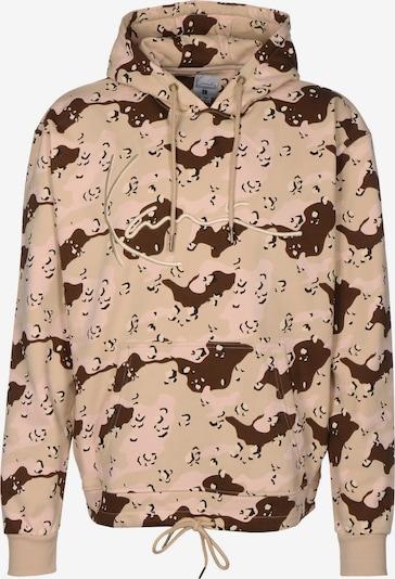 Karl Kani Sweat-shirt en beige / marron, Vue avec produit