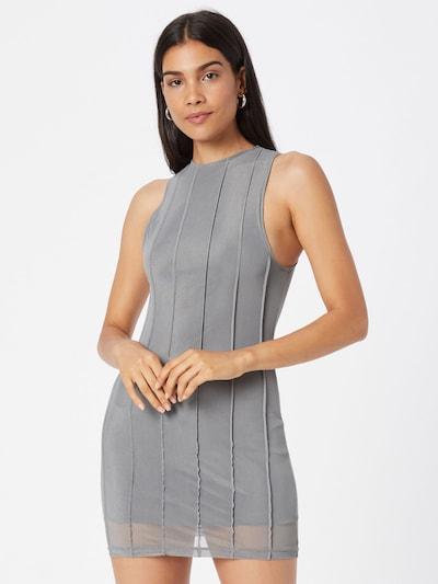 Motel Kleid 'Raisa' in grau, Modelansicht
