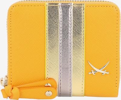 SANSIBAR Geldbörse in gelb / silber, Produktansicht