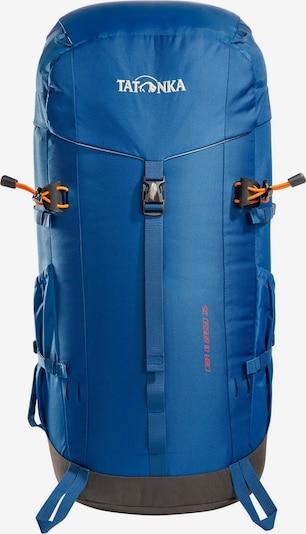 TATONKA Sportrugzak 'Cima Di Basso 35 ' in de kleur Blauw / Grijs / Sinaasappel / Wit, Productweergave