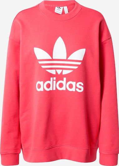ADIDAS ORIGINALS Sweater majica 'Trefoil' u ružičasta / bijela, Pregled proizvoda