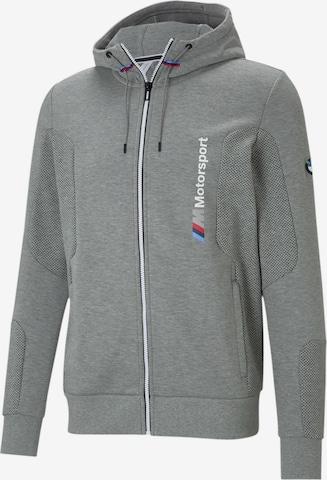 Veste de survêtement 'BMW' PUMA en gris