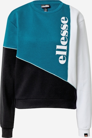 ELLESSE Sweatshirt 'MARITIMA' in de kleur Groen / Zwart / Wit, Productweergave