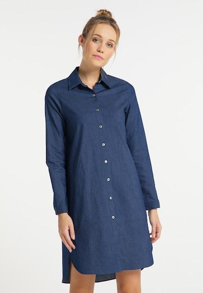 DreiMaster Vintage Kleid in blau, Modelansicht
