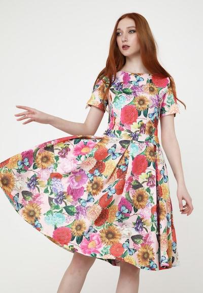 Madam-T Sommerkleid 'SDONA' in mischfarben, Modelansicht