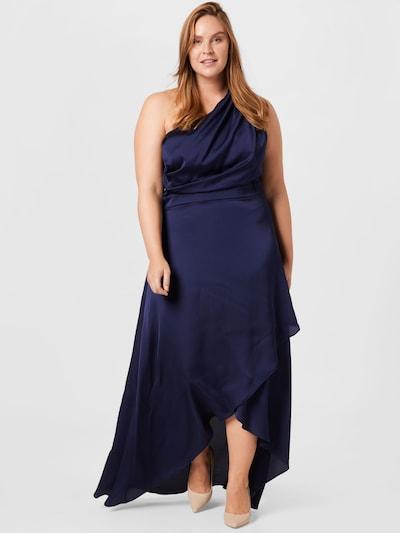 Rochie de seară 'DELALI' TFNC Plus pe bleumarin, Vizualizare model