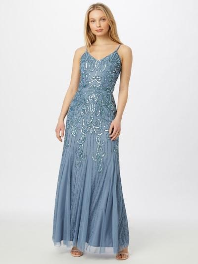 Sistaglam Kleid 'MAE' in blau / dunkelblau, Modelansicht