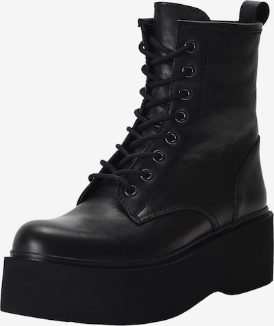 INUOVO Schnürstiefelette in schwarz, Produktansicht