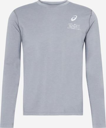 ASICS Λειτουργικό μπλουζάκι 'FUJI' σε γκρι