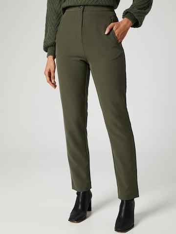 Pantaloni 'Lisa' di Guido Maria Kretschmer Collection in verde
