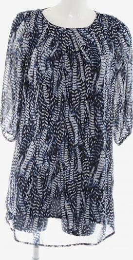 H&M Minikleid in XS in blau / schwarz / weiß: Frontalansicht
