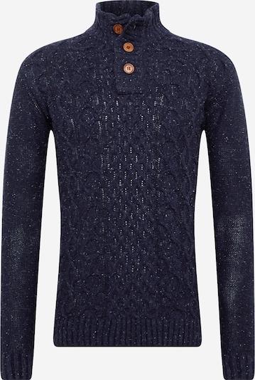 Megztinis 'Rich' iš INDICODE JEANS , spalva - tamsiai mėlyna / balta, Prekių apžvalga