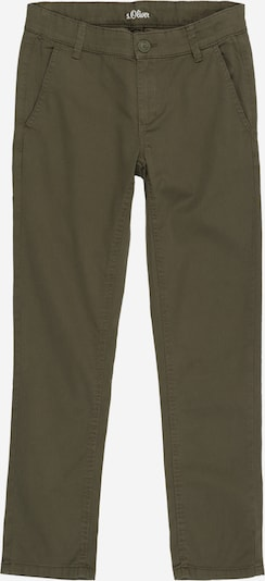 s.Oliver Trousers in khaki, Item view
