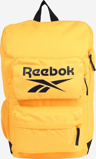 Reebok Sport Sac à dos de sport en jaune / noir: Vue de face