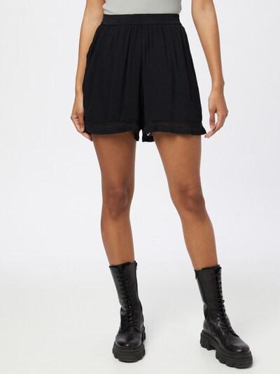ICHI Pantalon en noir, Vue avec modèle