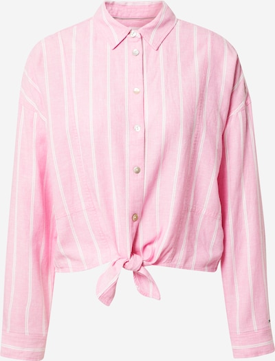 Tommy Jeans Bluse in pink / weiß, Produktansicht