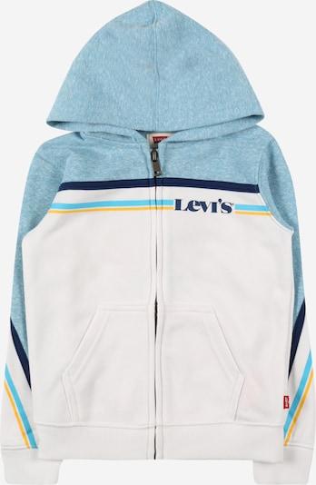 LEVI'S Gornji dio trenirke u mornarsko plava / svijetloplava / žuta / bijela, Pregled proizvoda