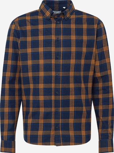 Dalykiniai marškiniai 'Anton' iš Casual Friday , spalva - tamsiai mėlyna / oranžinė, Prekių apžvalga