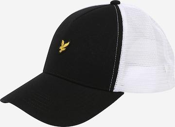 Șapcă de la Lyle & Scott pe negru
