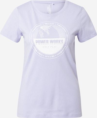 Tricou funcțional 'ANDA' ONLY PLAY pe lavandă / alb, Vizualizare produs