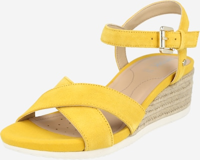 GEOX Сандали с каишка в бежово / жълто, Преглед на продукта