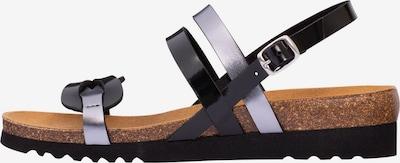 SCHOLL Sandale 'Sofia' in schwarz / silber, Produktansicht