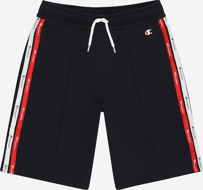 Champion Authentic Athletic Apparel Shorts in navy / rot / weiß, Produktansicht