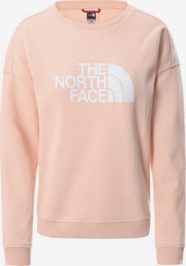 THE NORTH FACE Sweatshirt in apricot / weiß, Produktansicht